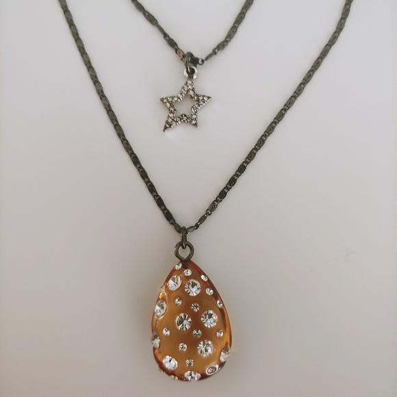Betsey Johnson Jewelry - NWT - Betsey Johnson 2-Charm Necklace